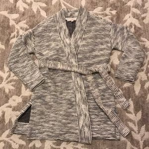 NWOT LOFT tie cardigan lightweight comfy knit M